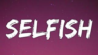 Stephanie Poetri - Selfish (Lyrics)