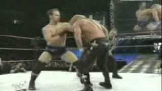 WWF Metal Chris Daniels VS Jerry Lynn