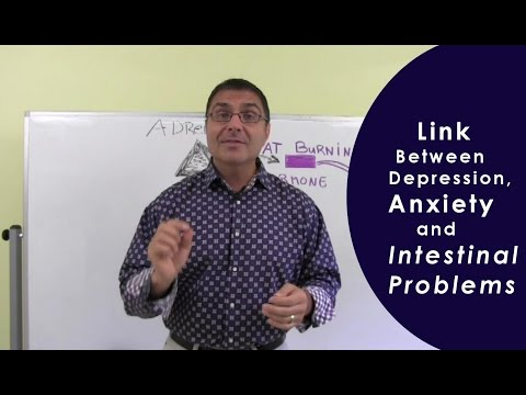 Link between Depression Anxiety and Intestinal Problems