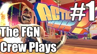 The FGN Crew Plays: Action Henk #1 - We Got This (PC)