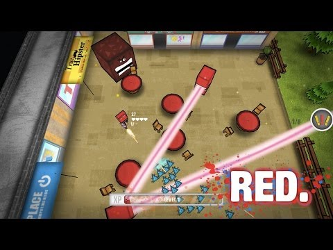 RED. Universal Game For Windows Phone And Windows 8.1