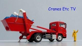 Conrad MAN TGS M Meiller Skip Truck by Cranes Etc TV