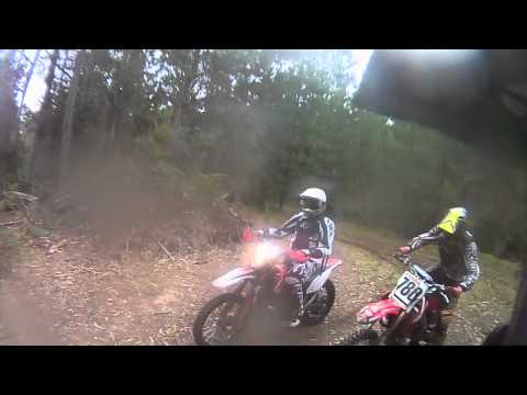 Gasgas EC300 Trail riding at Mt Loyd, Tasmania.MOV
