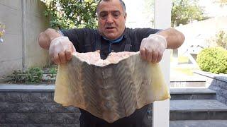 Три вида рецепта для разных рыб, один из которых сочный шашлык из осетрины. Рецепт от Жоржа