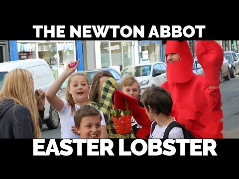 Newton Abbot - The Easter Lobster