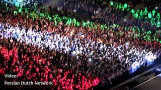 Ey Iran Anthem @ Persian New Year Concert in Oberhausen Arena 2014 | سرود ای ایران با صدای مردم