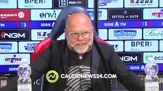 "Cosmi pre Crotone-Inter: ""Inter gara impossibile. Io anche in B? Non lo so"""