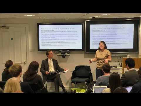 OII Colloquia: What's wrong with using machine learning to personalise law?