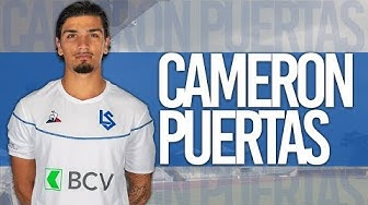 Cameron Puertas ● FC Lausanne-Sport ● Cen. Midfielder ● 19/20 Highlights