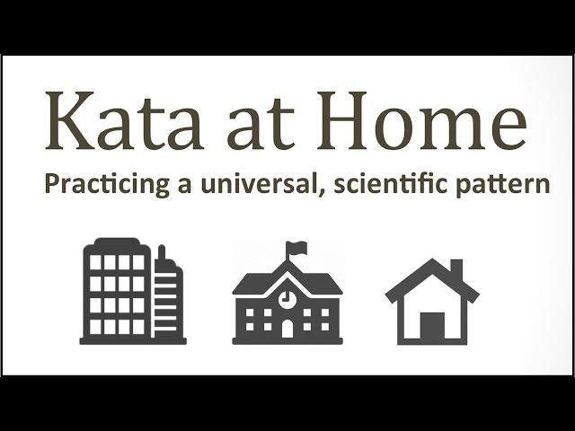Jeremiah Davis: Kata at Home