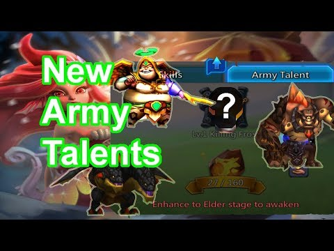How Powerful Are New Familiars Army Talents??? - 王國紀元 Lords Mobile