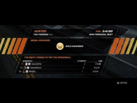 """Need For Speed™ Hot Pursuit Remastered Hot Pursuit """"HUNTED"""" 3:41.00 