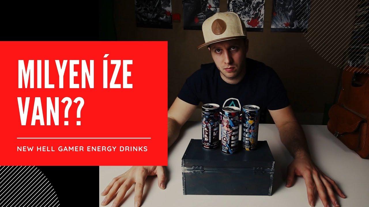 ÚJ Hell Gamer Energia italok!!! - Gamer Energy Drink