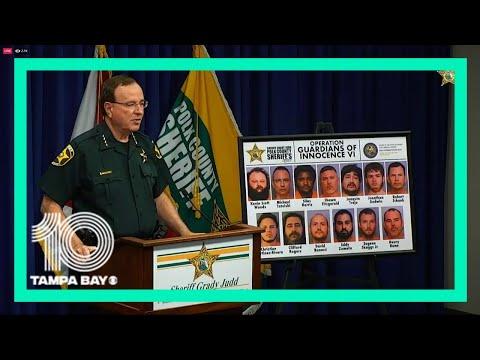 LIVE: Polk County Sheriff Grady Judd on child pornography arrests