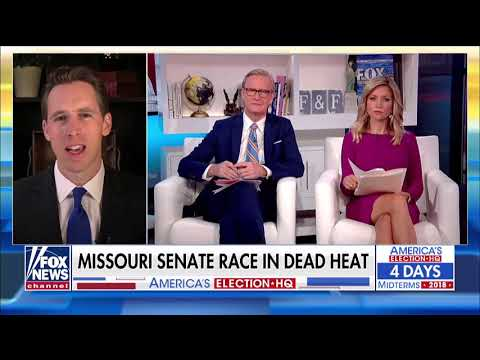 Josh Hawley joins Fox & Friends on Fox News