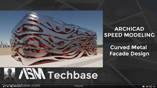Curved Metal Facade Design