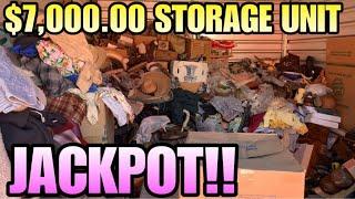 $7,000.00 STORAGE! BEST STORAGE EVER HEADING TO TEXAS! Storage auction pirate GRIMES FINDS UNITE!
