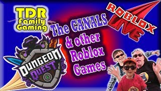 DQ Live: The Canals & other Roblox Games w viewers