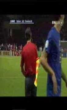 Zidane`s Koptsoß im FIFA WM Finale 2006