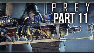 PREY Gameplay Walkthrough Part 11 - Q-BEAM / SHIPPING AND RECEIVING (Full Game)