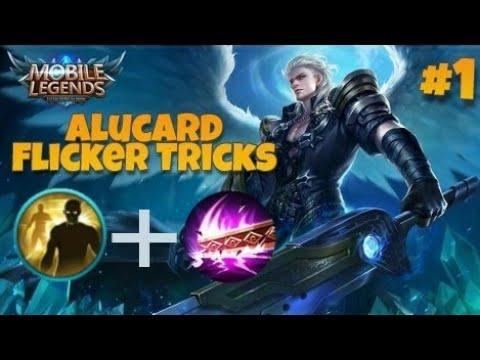 Alucard Flicker Tricks | Alucard New Secret Technique | Mobile Legends Bang Bang