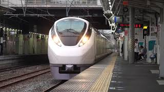 【JR東】常磐線 特急ときわ69号 勝田行 水戸 Japan Ibaraki JR Joban Line Trains