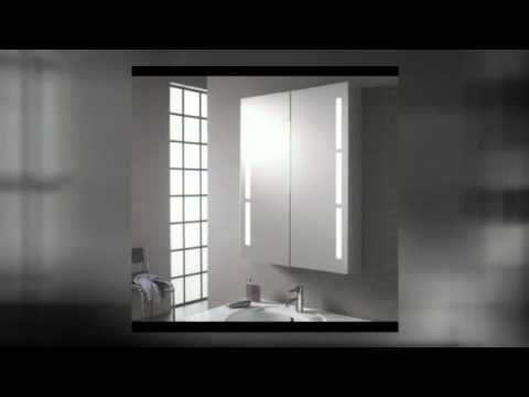 bad spiegelschrank mit steckdose youtube. Black Bedroom Furniture Sets. Home Design Ideas