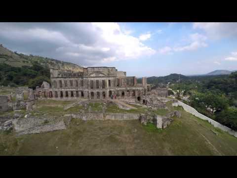 Drone   Haiti's Sans-Souci Palace