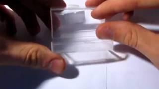 Защитный корпус для 9В / 2 х АА батареи - Прозрачн