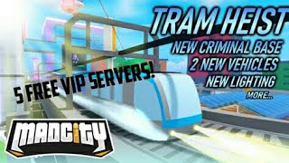 5 Madcity VIP servers giveaway!