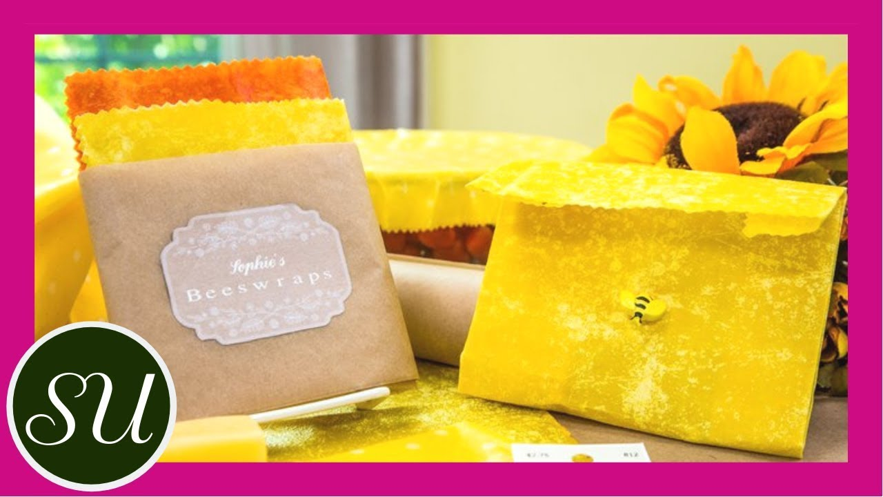 How To Make an alternative to plastic wrap using beeswax & cotton