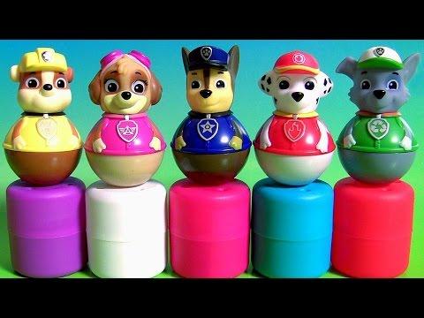 Nickelodeon Paw Patrol Weebles Mashems & Fashems Surprise Weeble Wobble Disney Toys Peppa Pig ...