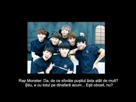 BTS(방탄소년단)- SKIT: R U HAPPY NOW? (Romanian subtitles)