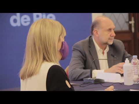 OMAR PEROTTI Y EL MINISTRO JORGE FERRARESI SUSCRIBIERON CONVENIOS PARA LA CONSTRUCCIÓN DE MÁS DE 4 0