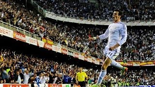 Gareth Bale wonder goal to win the Copa del Rey