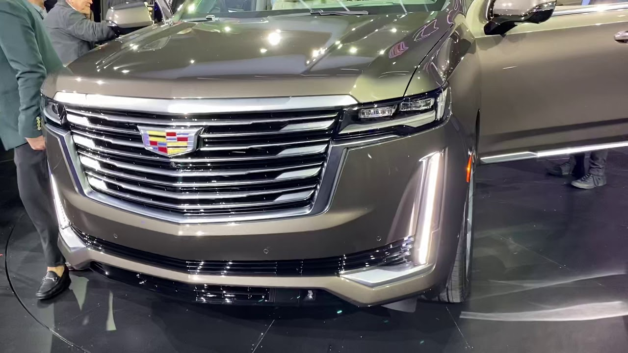 Cadillac Escalade 2021. - YouTube
