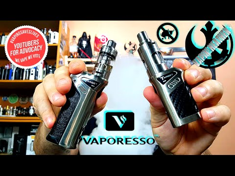 Target Pro and Target Mini kits by Vaporesso | First Look