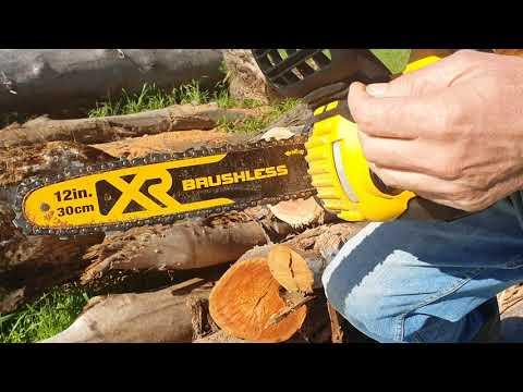 Dewalt Cordless Chainsaw 18v 12 inch 30cm 300mm DCM565N
