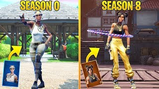Evolution of Fortnite Season Dances (Season 0 - Season 8)