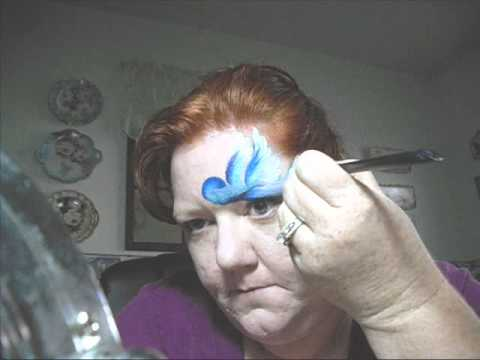 video:Little Bird Face Painting.wmv