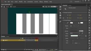 Adobe Flash - создание кнопки со звуком (дз piano)