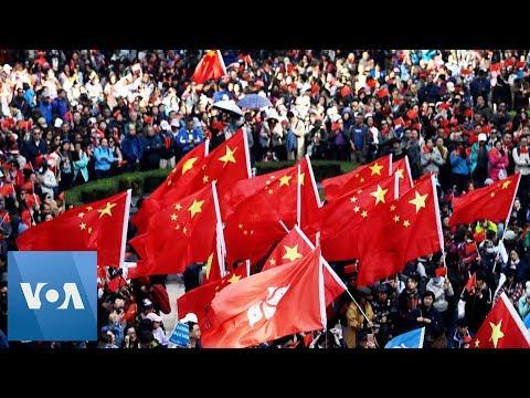 Hong Kong Reporter Beaten at Pro-Beijing Rally