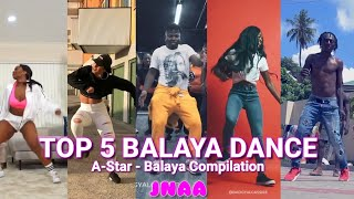 Gambar cover A-Star Balaya TOP 5 Afrobeats Dance  Music