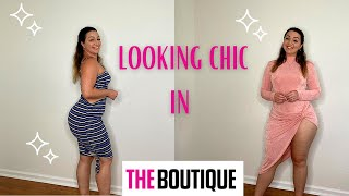 DRESS CHIC   BODYCON DRESS HAUL   FEATURING THE BOUTIQUE