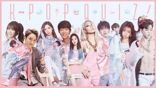 Kpop quiz 5 | raps, mv stills & sped up songs