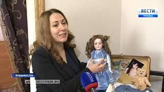 Антикварные куклы выставлены в Доме-музее семьи Сухановых