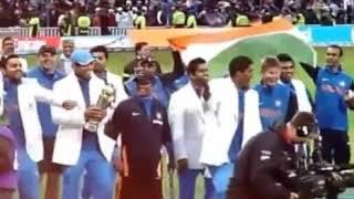India world cup celebration 2011  by Indian team  ™ virat Kohli,rohith Sharma,Ms dhoni, k l Rahul   
