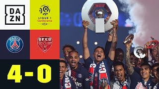 Meister-Party und doppelter Kylian Mbappe: Paris Saint-Germain - Dijon 4:0 | Ligue 1 | DAZN