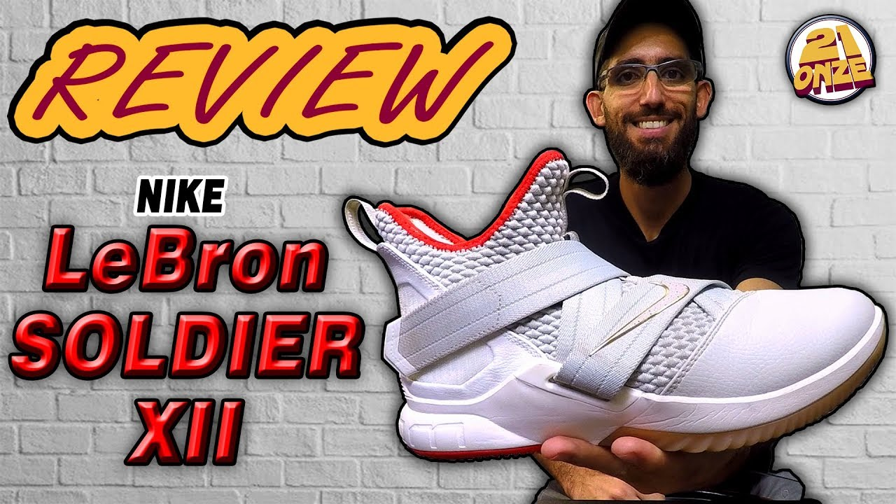 f3e94778cd9a Análise Nike LEBRON SOLDIER XII (Review LEBRON SOLDIER 12 ptbr ...