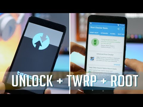 Redmi Note 4 : Unlock Bootloader + Install TWRP + Root - YouTube